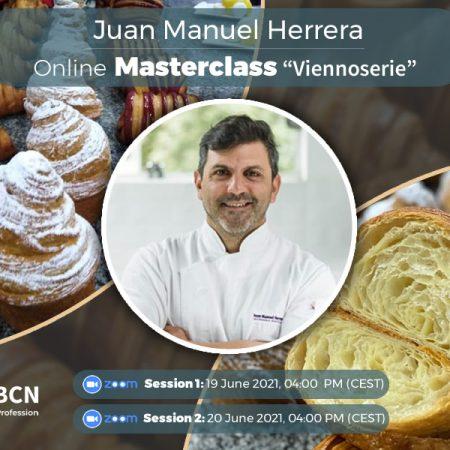 "Juan Manuel Herrera online Masterclass ""Viennoserie"""